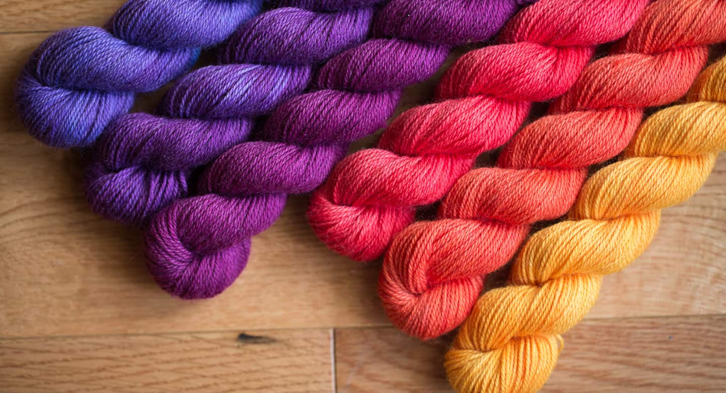 683036fc82b Learn to Spin Yarn with Colour - School of SweetGeorgia