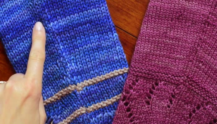 Raised Increases in Knitting