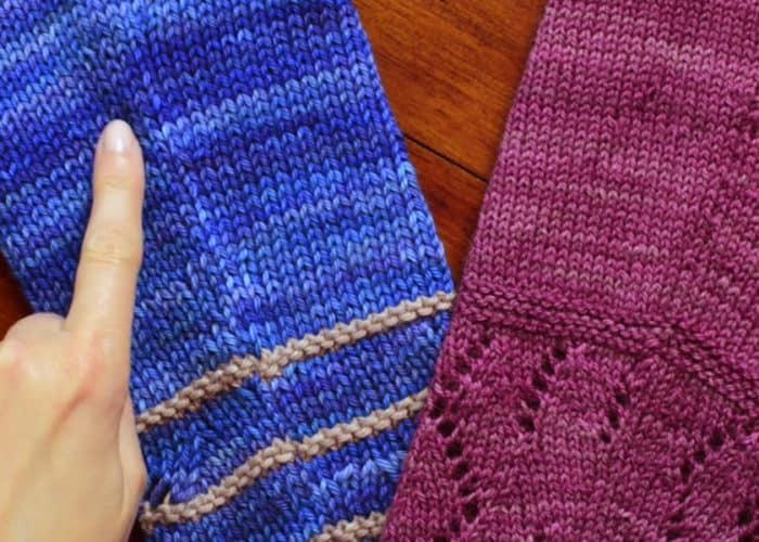 Raised Increases in Knitting