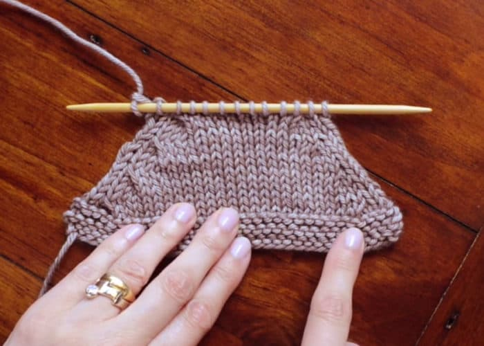 Cabled Decreases in Knitting