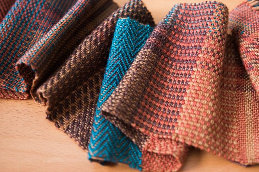 Multishaft Weaving Sampler