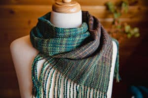 Square One Handwoven Scarf Pattern