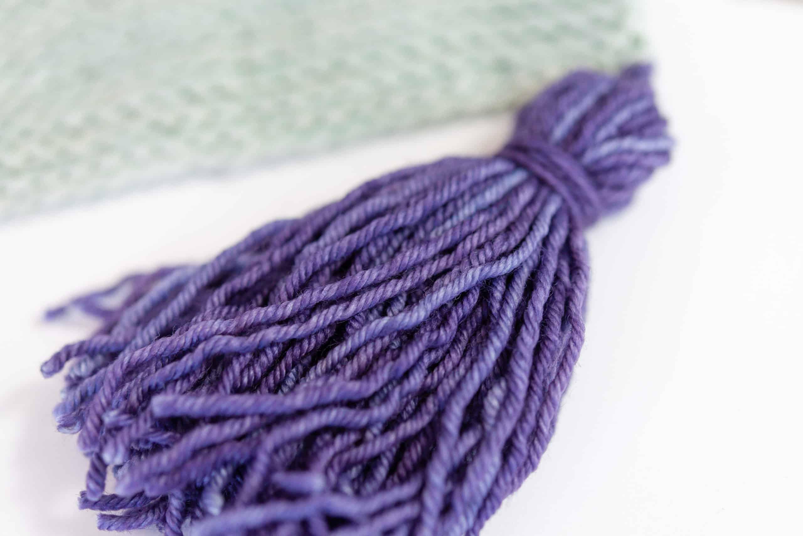 Purple Tassel, School of SweetGeorgia Tiny Tutorial