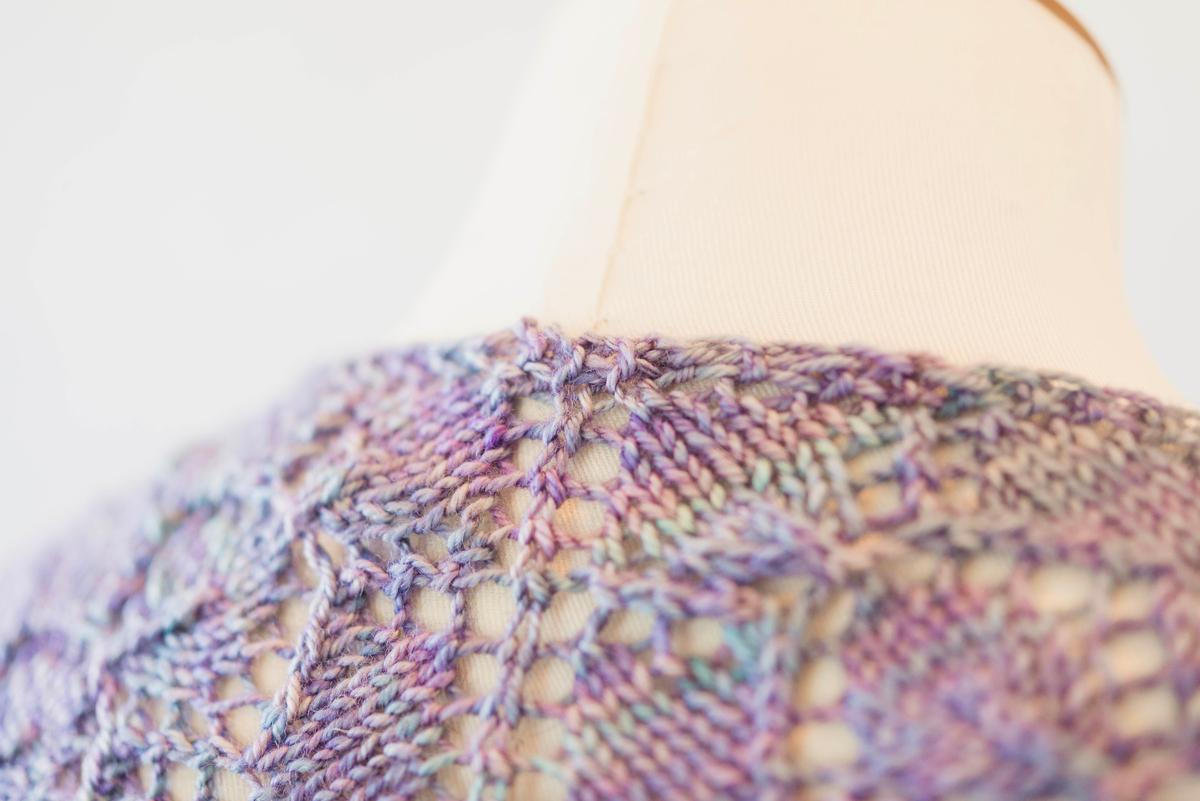 Garter Tab cast on for knitting a shawl