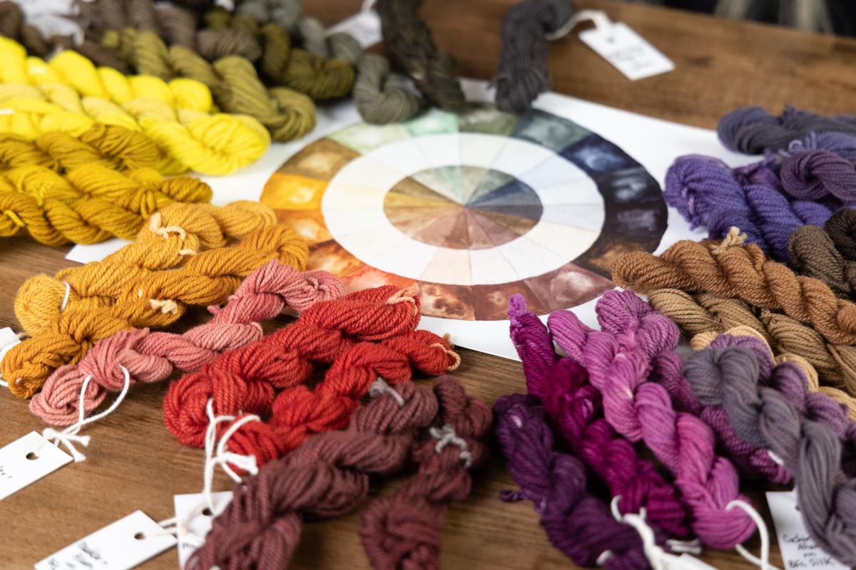 Natural Dyeing basics NDB colour wheel
